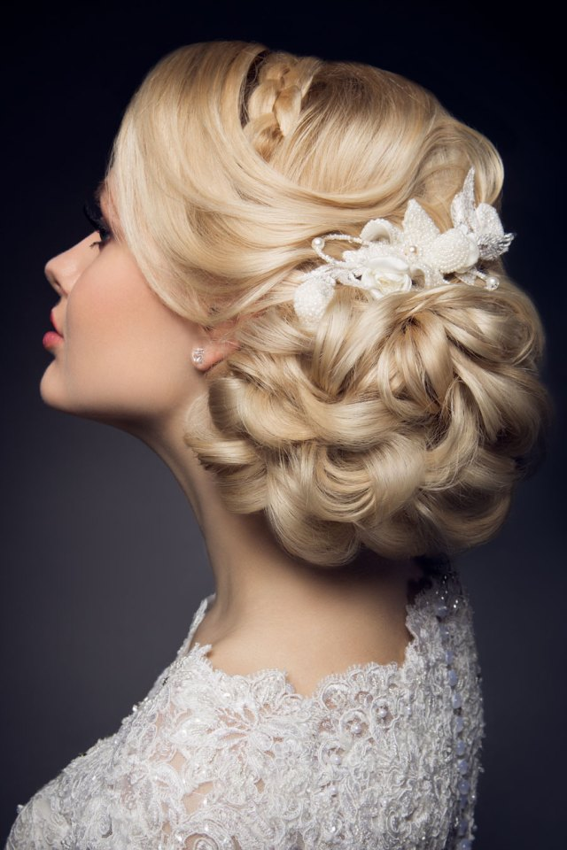 wedding hair inspiration from omaha lace cleaners