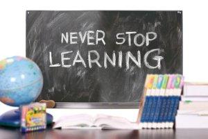 Yakin dan terus belajar