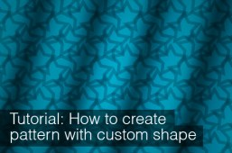 How to create web patterns