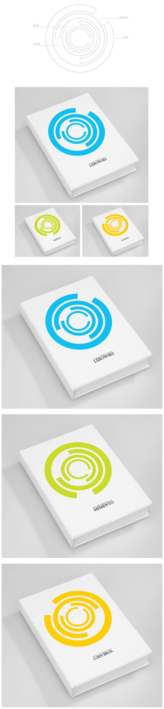 Minimal Book Cover Designs