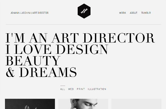 A Showcase of 20 Super Minimalist Portfolio Websites