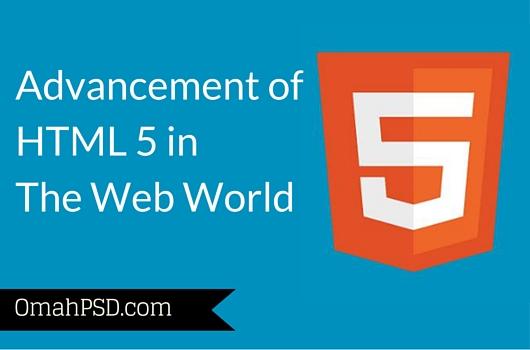 Advancement HTML 5