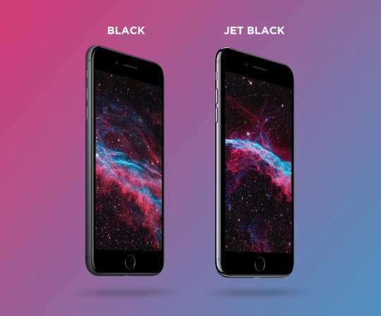 Free 4K Black and Jet Black iPhone 7 Plus PSD mockup by Mockup Depot