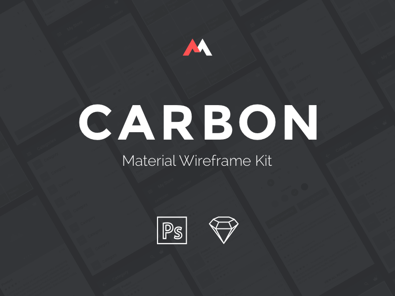 CARBON - Material Wireframe Kit