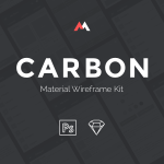 CARBON – Material Wireframe Kit