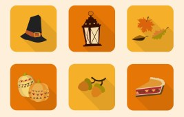 Free Thanksgiving Icon Set by Smashing Magazine