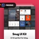 Snug UI Kit – Perfect for Blog