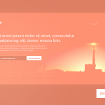 Pre-Launch Screen Website Template