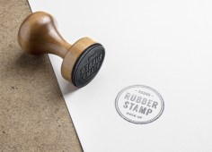 Free Rubber Stamp PSD Mockup by GraphicBurger