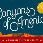 Canyons Vintage Script – Free Font