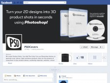 Facebook PSD Cover Timeline Template by PSDCovers