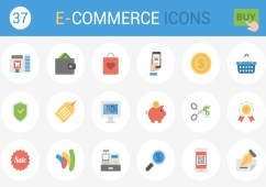 Free 37 eCommerce Icons by ecomm.design