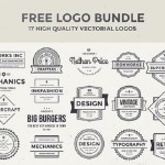 Free Logo Bundle – 17 High-Quality Vector Logos