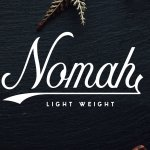 Nomah Light Typeface (Limited Time)