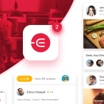 Edacious – Free Food UI Kit