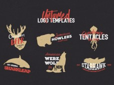 Free Untamed Logo Template