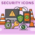 Free Vector Security Icon Set (12 Icons, AI, Sketch)