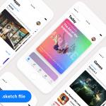 iOS 11 App Store GUI (Sketch)