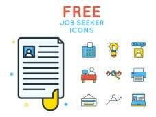 Free Job Seeker Icons