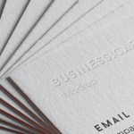 Business Card Brand Mockup – Free PSD