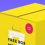 Free Box Packaging Mockups (7 Scenes, PSD)