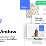 Window – Free PowerPoint Template