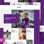 Nemesis Website PSD Template