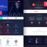 Free PSD – Creative Website Design