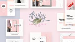 Briley – Free Social Media Pack