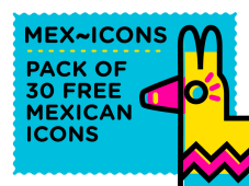Free Mex~icons Icon Design