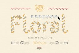Free Floral Pattern Brushes