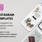 Lush: Free Social Media Templates for Instagram