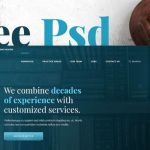 Medicalia Law Website PSD Template