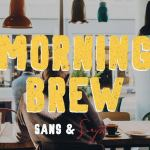 Morning Brew – Free Hand Painted Font