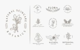 Free Floral Logo Templates