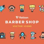Free Barbershop Vector Icons (50 Icons, SVG, PNG)
