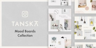 Tanska - Free Instagram Moodboard Collection