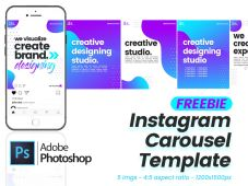 Free Instagram Carousel Template