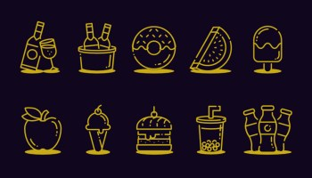 Free Food and Drink Icons
