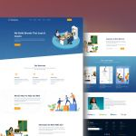 AgencyZone – Free Landing Page Design (Adobe XD)