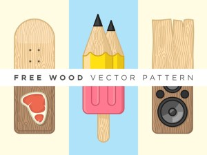 Free Wood Vector Pattern (EPS)