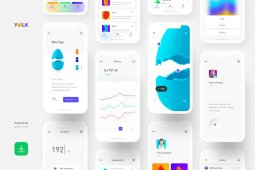 Yolk - Free iOS UI Kit (Sketch)