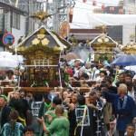鎌倉・五所神社~例大祭(乱材祭)~海上渡御・天王唄
