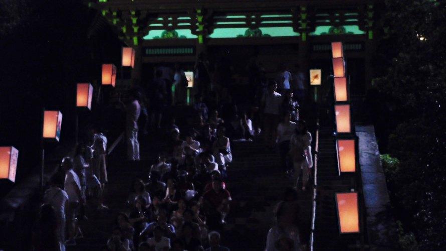 鶴岡八幡宮~ぼんぼり祭り2018~三十選「人・動物」編