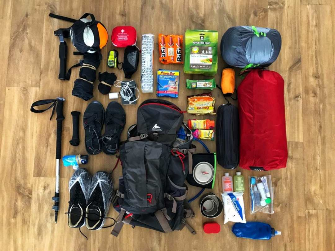 Packing for Laugavegur trail