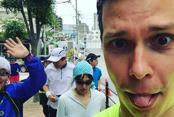 Running Osaka with the locals