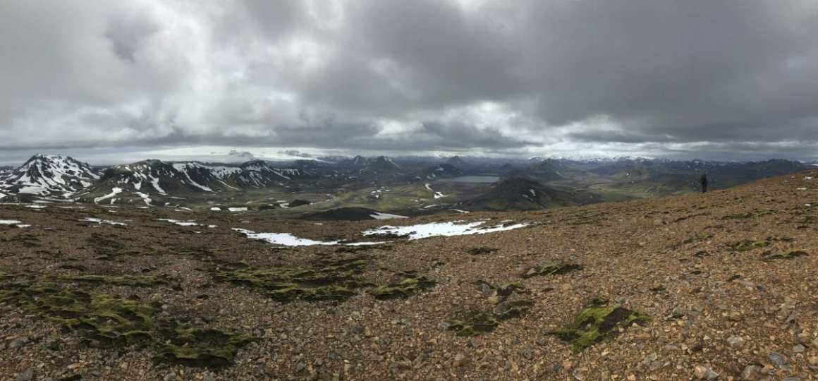 One of the amazing views, lose to Alftavatn on the Laugavegur trail