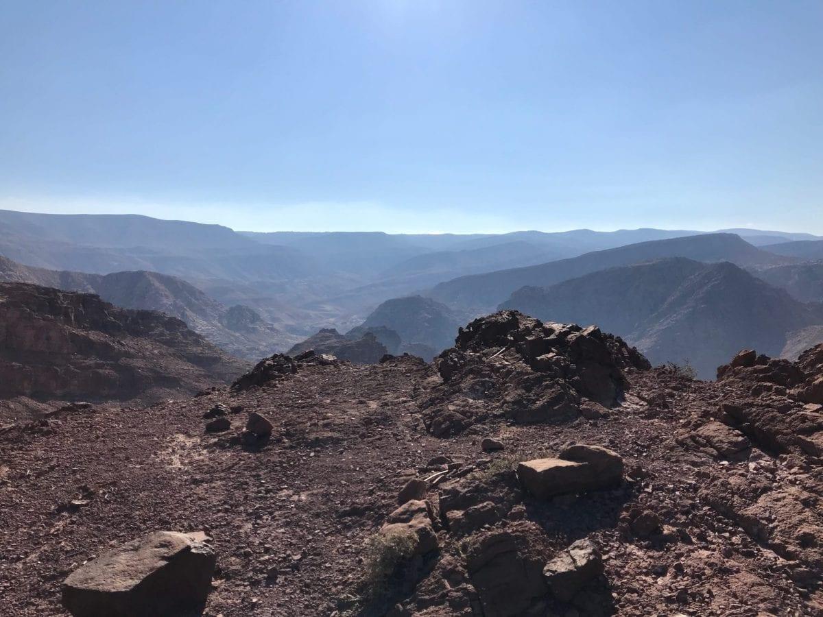 Jordan Trail view
