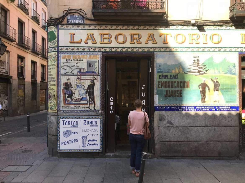 In Malasana in Madrid