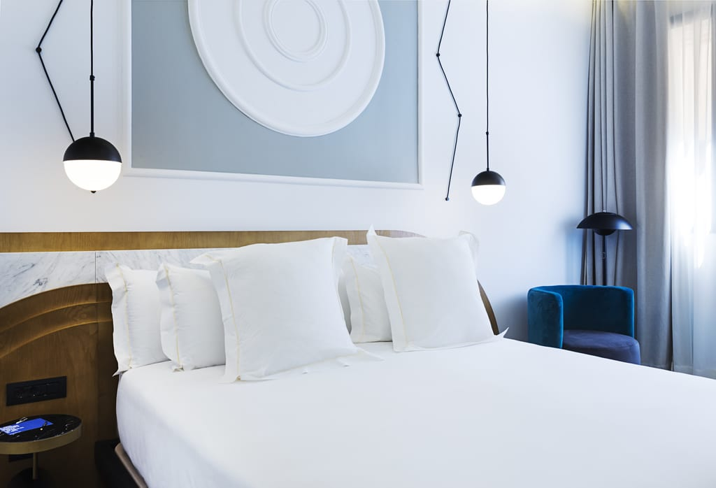 Rooms at One Shot Fortuny hotel Madrid - photo by One Shot Fortuny hotel Madrid